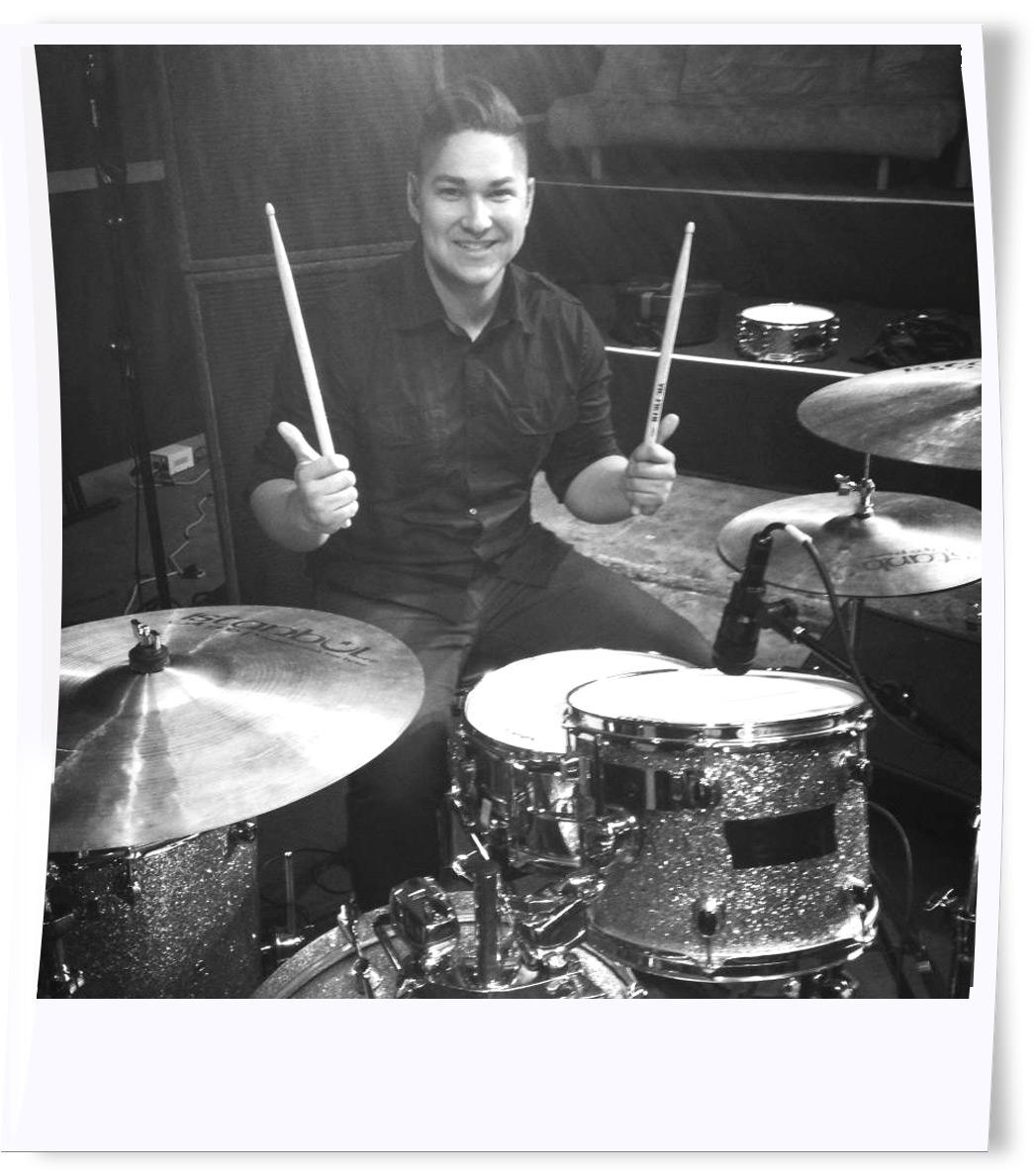 Chris Vargas - Drums